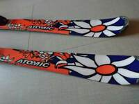 Atomic Blaze 140cm skis Balanze Flower
