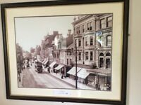 2 large pictures of Cardiff 1902