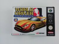 Nintendo 64 Game (Perfect Condition)- World Driver Championship