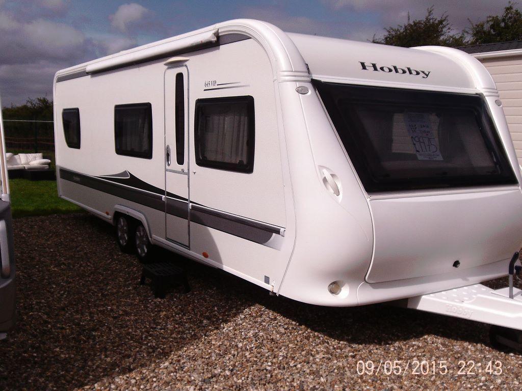 hobby 645 vip 2010 touring caravan in driffield east yorkshire gumtree. Black Bedroom Furniture Sets. Home Design Ideas