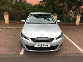 Peugeot 308 2.0 Diesel Automatic s/s with extended warrenty
