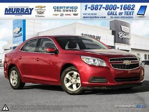 2013 Chevrolet Malibu 1LT **Remote vehicle start! Heated mirrors