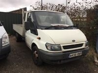 Transit 350 Alloy Dropside 12ft pickup alloy floor