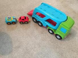 ELC Car transporter with cars and sounds