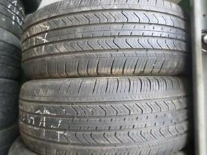 pair of 235/60/17 michelin summer tires