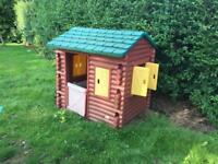 Playhouse Little Tikes Log Cabin RRP 379