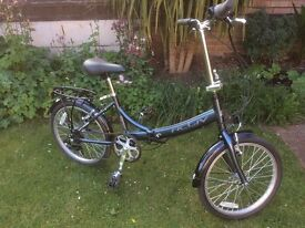 Folding Raleigh bicycle