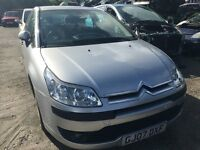 2007 CITROEN C4 COOL HDI 16V (MANUAL DIESEL)- FOR PARTS ONLY