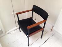 Mid Century Office / Lounge Chair / Vintage / Retro / Desk