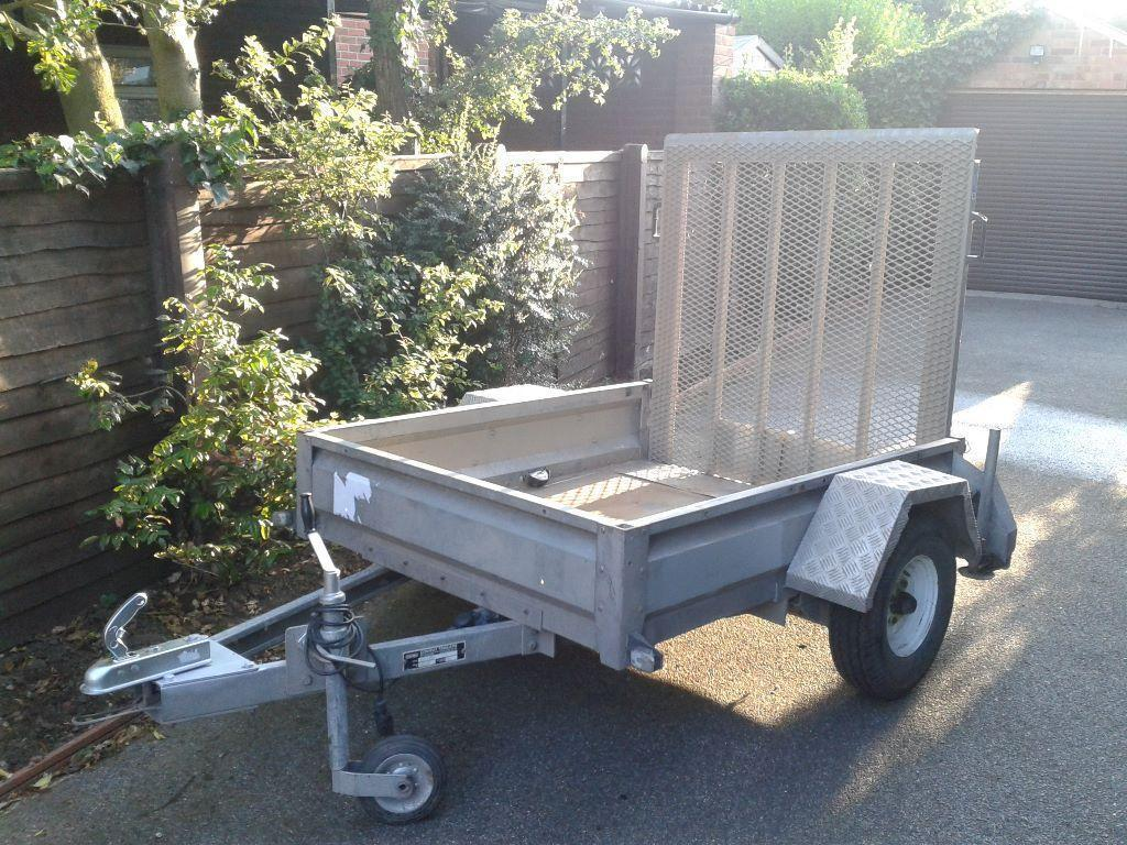 Conway Trailer With Drop Down Ramp In Norwich Norfolk Gumtree