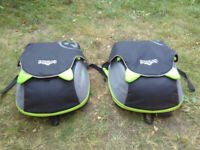Trunki BoostApak Travel Backpack and Child Car Booster Seat - Green - 2 available