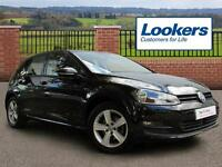 Volkswagen Golf MATCH TSI BLUEMOTION TECHNOLOGY (black) 2015-02-01