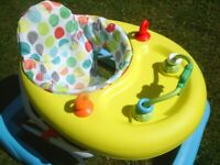 Chad Valley Baby Walker. 3 Height Positions. Folds flat. Excellent Condition