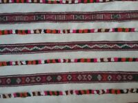 Large Moroccan wool rug