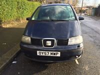 VW Sharan/Seat Alhambra ,Diesel , 07438657046,Drives Amazing ,MOT 05/01/2018