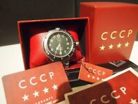 RUSSIAN CCCP DIVERS AKULA SUBMARINE SPECIAL EDITION CP-7004-55 watch