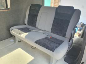 Vw transporter mazda bongo seats bed