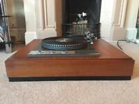 Garrard 401 turntable with SME 3009 tonearm and shure cartridge