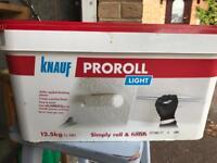 Knauf pro roll roll on plaster