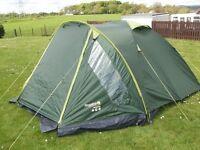 Regatta 4 Man Dome Tent BRAND NEW!! REDUCED!!!
