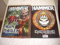 METAL HAMMER Sept 2015 Iron Maiden The Book Of Souls 3D Collectors Edition No CD