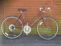 Vintage 'Puch' ladies Touing bike. 10 Speed. Late 70's - early 80's