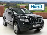 Jeep Grand Cherokee V6 CRD OVERLAND (green) 2012-09-28