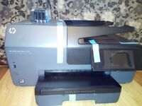 HP OFFICEJET 6830 WIFI, PRINTER, SCANNER, COPIER, DOBLE SIDED PRINTING, FAX WITH EMAIL ADDRESS