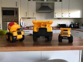Caterpillar truck set