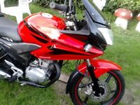 honda cbf 125 year 2010 sports bike clean no mot starts first go