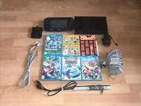 Nintendo Wii U 32GB Console With 5 WII U Games ( Great Condition)