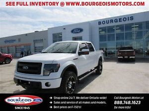 2013 Ford F-150 FX4 CREW 5.5' BOX REMOTE START, NAV, SYNC,