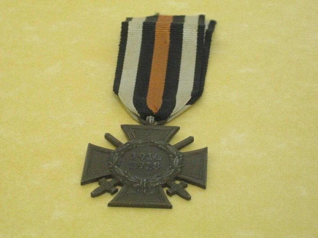 """German World War I medalin Swindon, WiltshireGumtree - """"German World War I medal Selling a German World War I medal for £40.00, please enquire on 01793 575016, thanks L774/B21"""""""