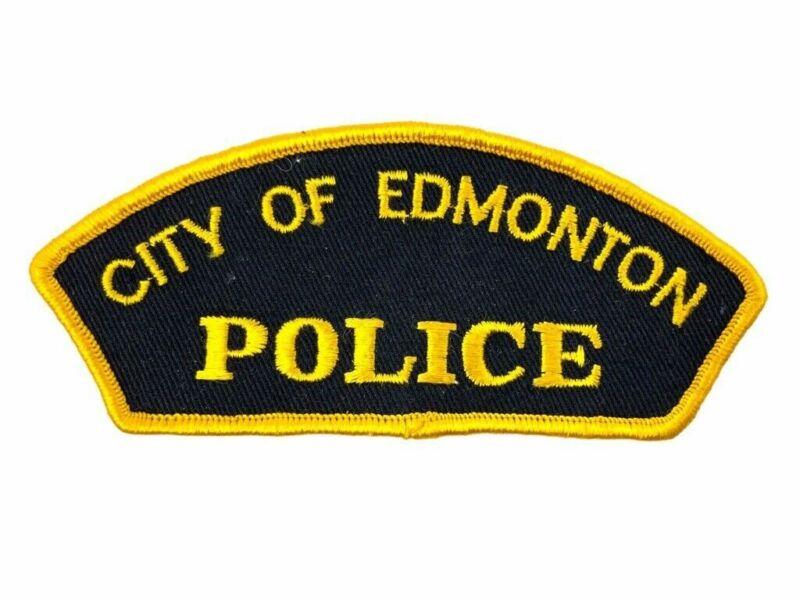 Canadian City of Edmonton Alberta Police Patch