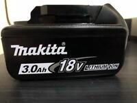 Makita 3.0AH 18V BATTERY