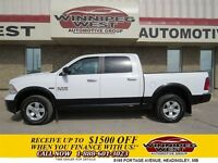 2014 Dodge Ram 1500 TWO TONE OUTDOORSMAN FULL CREW 4X4, 5.7L HEM