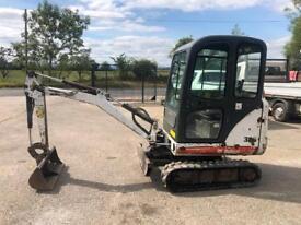 Bobcat 323 1.6 Ton Mini Digger / Excavator