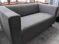 IKEA KLIPPAN Compact 2-seat sofa (GREY) - GREAT Condition!