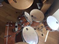 Nearly new drum kit for sale