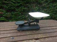Cast Iron Kitchen Balance Scales
