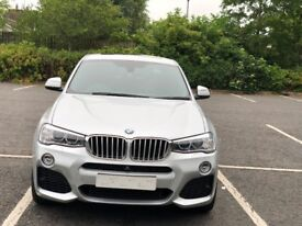 BMW X4 with Sunroof,Service Inclusive,High Spec Model
