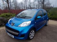 Peugeot 107 1.0 £ 20 per year tax 55000 fsh outstanding value car