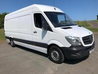 MERCEDES-BENZ SPRINTER 2.1 313 CDI LWB 1d 129 BHP DIRECT FROM MERCEDES LIGHT USE ONLY (white) 2015