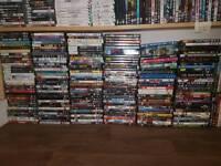 Over One Hundred DVD's