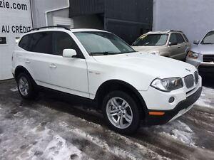 2008 BMW X3 3.0i - AUT.- CUIR - TOIT - TOUT EQUIPE - IMPECCAB