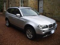 BMW X3 3.0 D SE Facelift
