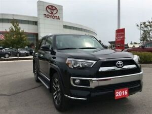 2016 Toyota 4Runner Limited - Loaded, Toyota Certified, Original