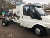 Ford transit chassis cab 106,000 miles ideal tipper