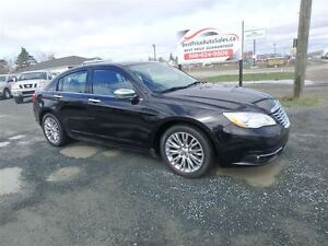 2013 Chrysler 200 LIMITED! HEATED LEATHER! ROOF! CERTIFIED!