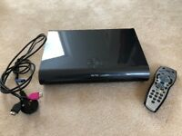 Sky + HD 2TB box with leads & remote control